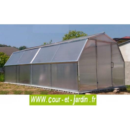 Extension Flora, rallonge de serre 3m - Serres de culture- Cour et ...
