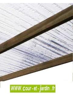Carport bois IMPERIA 5mx3 couverture PVC 15m²