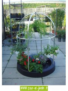 mini serre de balcon terrasse jardin petites serres plantes. Black Bedroom Furniture Sets. Home Design Ideas