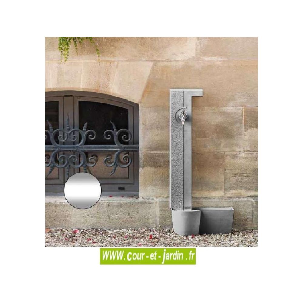 fontaine murale design aluminium design fontaine. Black Bedroom Furniture Sets. Home Design Ideas