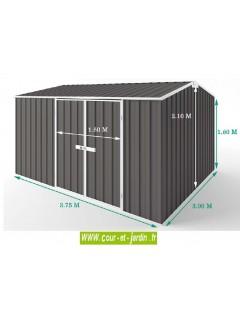 Dimensions de l' abri jardin metal, Colorbond ES-3830-SG