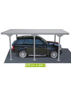 Carport voiture, de 5.43m x 2.87  /  gamme des abris de voiture de Duramax