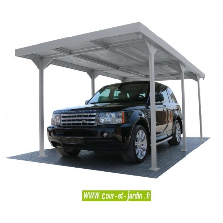 carport voiture abri voiture pas cher m tal carports. Black Bedroom Furniture Sets. Home Design Ideas