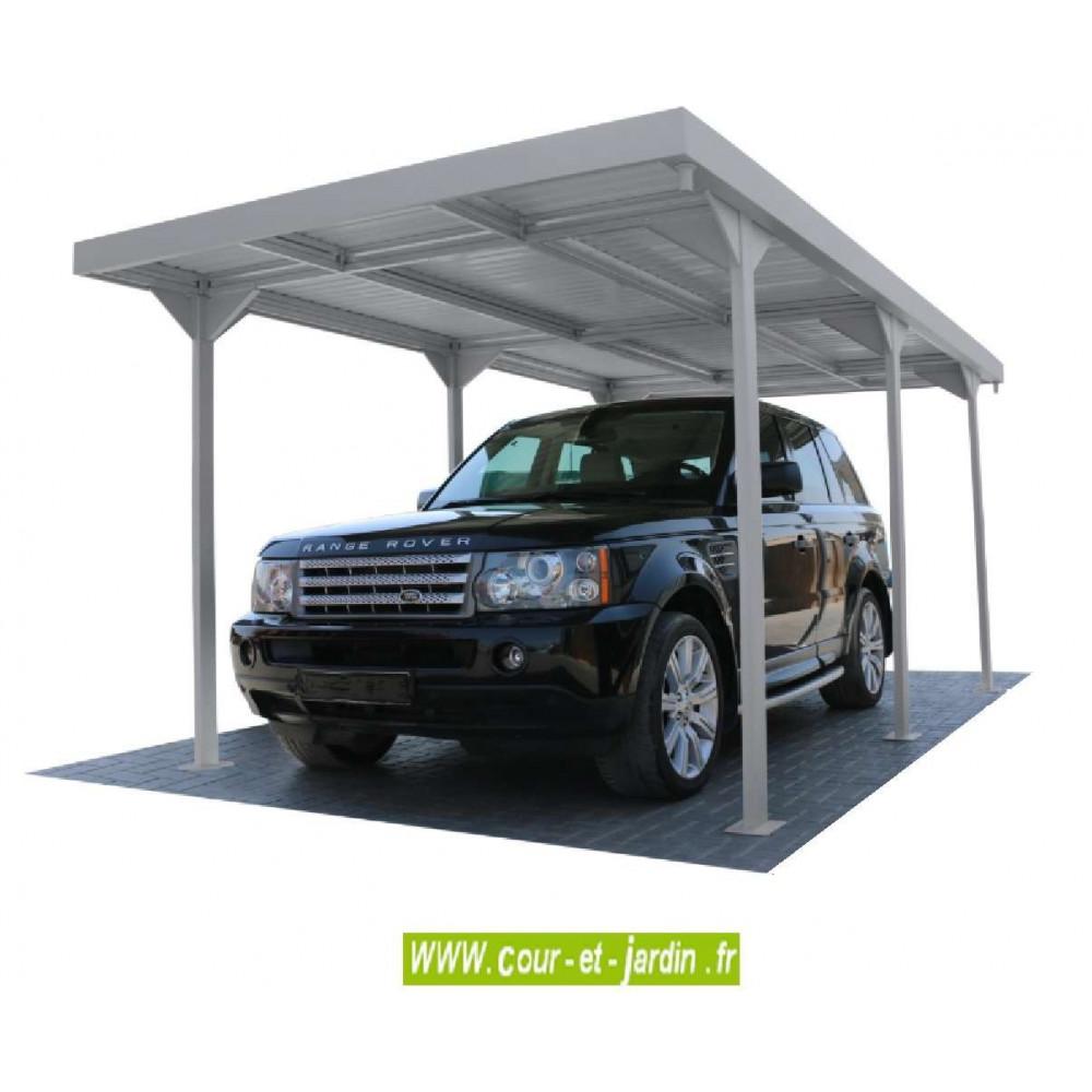 carport metallique m tallique abri voiture pas cher. Black Bedroom Furniture Sets. Home Design Ideas