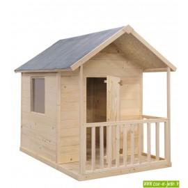 Cabane en bois pour enfant: KANGOUROU, ou maison bois enfant