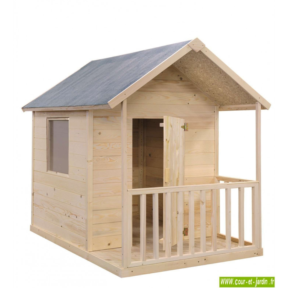 cabane en bois pour enfant cabane de jardin pour enfants. Black Bedroom Furniture Sets. Home Design Ideas
