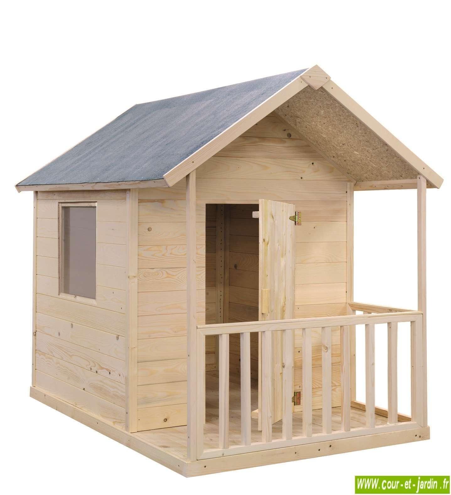 Maison Pour Enfant Exterieur cabane en bois pour enfant, cabane de jardin pour enfants