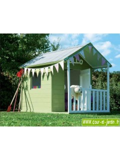 Cabane en bois pour enfant cabane de jardin pour enfants maison enfant - Cabane jardin ikea saint etienne ...