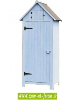 Armoire pour jardin en bois - armoire rangement outils de jardin