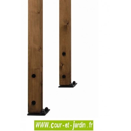 etendoir a linge exterieur en bois etendoir en bois de jardin. Black Bedroom Furniture Sets. Home Design Ideas