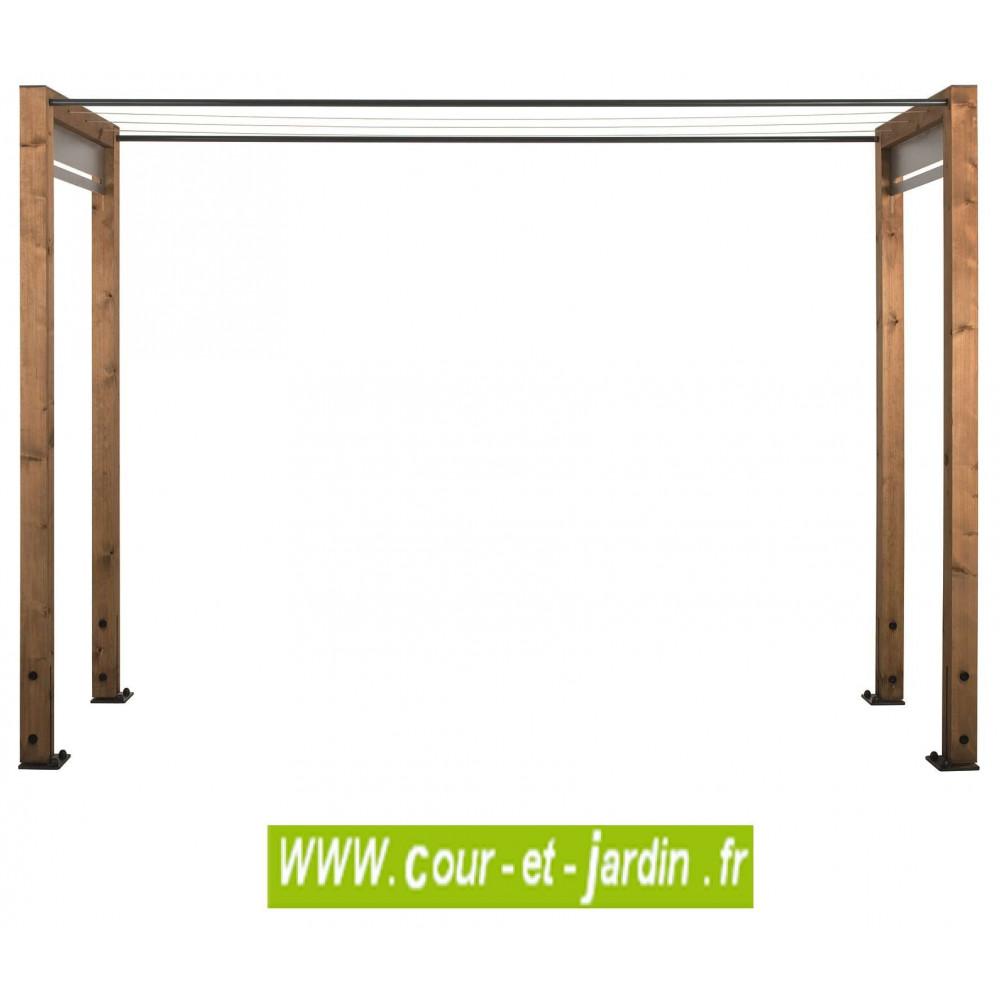 etendoir a linge exterieur en bois etendoir en bois de. Black Bedroom Furniture Sets. Home Design Ideas