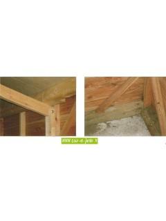 Garage voiture bois de 12 m² (série 3003) de 303mx403 cm - ou garage de jardin