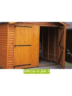 Garage ossature bois de 12 m² (série 3003) - garages bois en kit