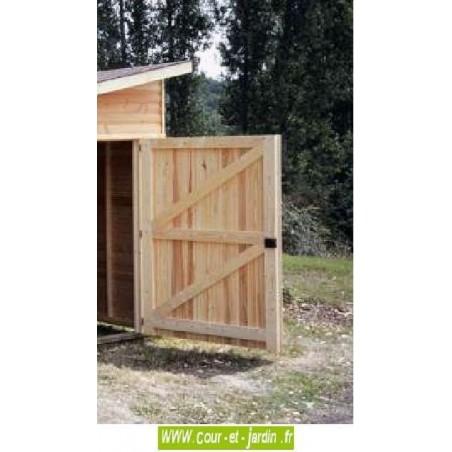 Garage en bois (série 2001 des garages bois pour voiture de cihb) - garage pas cher
