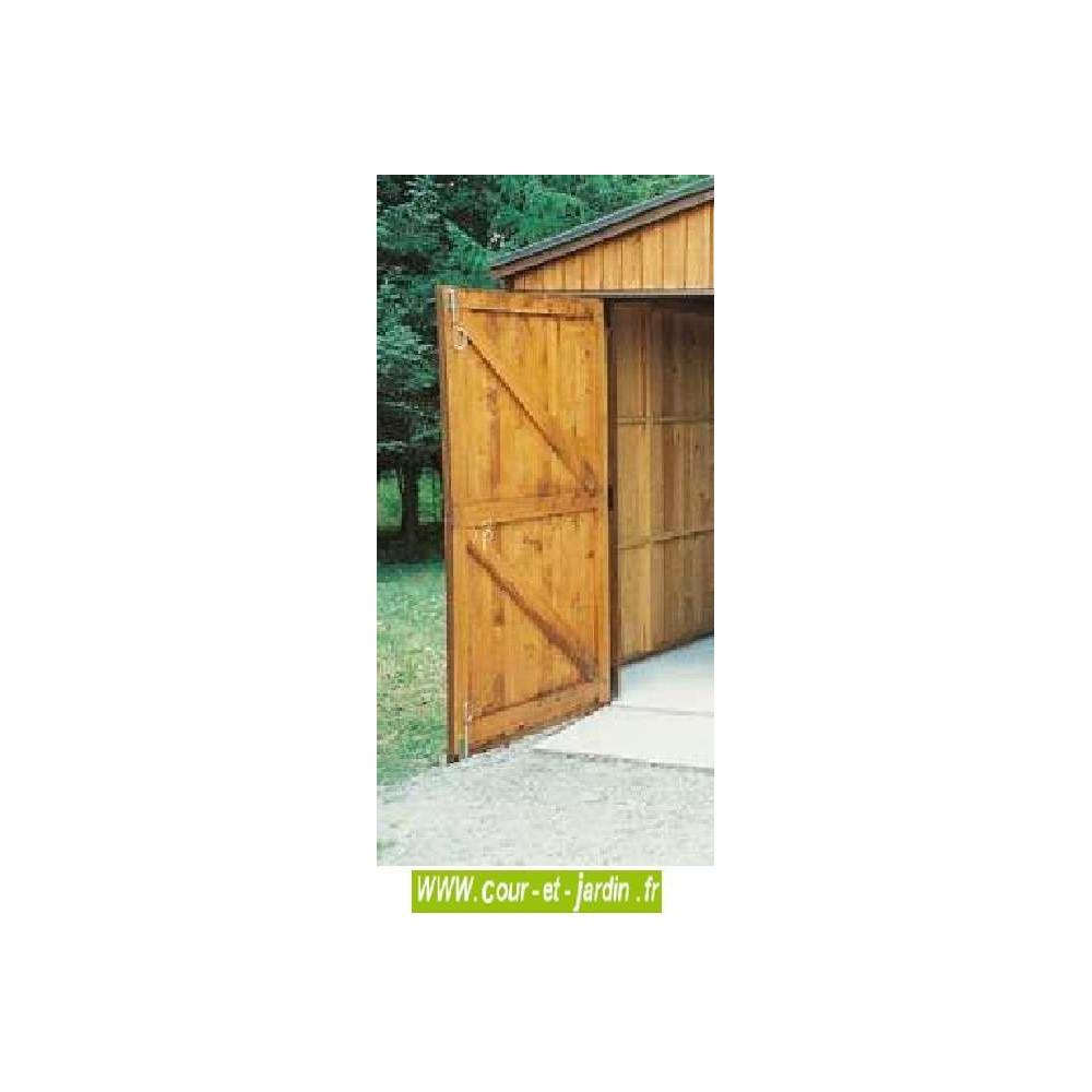 Abri De Jardin En Bois A Monter Soi Meme garage bois 16 m² - hauteur 270-garages et abris auto bois