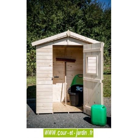 Abri de jardin en bois de rangement abris jardin pas - Abri de jardin avec plancher pas cher ...