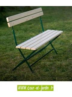 Banc de jardin pas cher en bois et m tal bancs de jardin ext rieur - Banc metallique exterieur ...