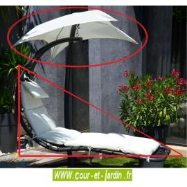 Coussin + toile ombrelle de hamac Celest blanc