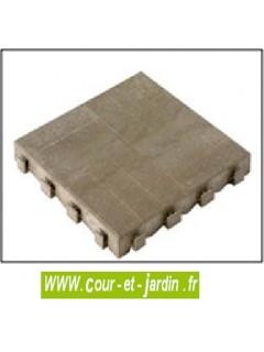 Dalle clipsable du coffre de jardin PVC Box Evo 100 - ou coffre de jardin en résine