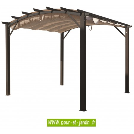 tonnelle aluminium terrasse en kit pergola aluminium prix pas cher. Black Bedroom Furniture Sets. Home Design Ideas