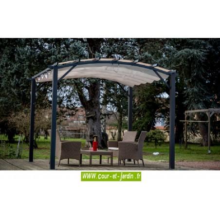 Tonnelle et pergola gallery of mobilier de jardin ozalide for Arche jardin gifi