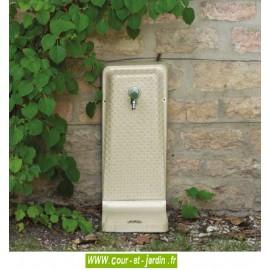 Fontaine de jardin murale coloris ivoire. Fontaine d'extérieur Venga