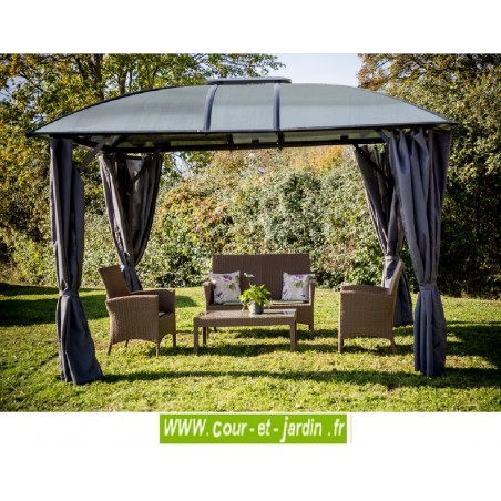 tonnelle aluminium de jardin gloriette terrasse pergola aluminium. Black Bedroom Furniture Sets. Home Design Ideas