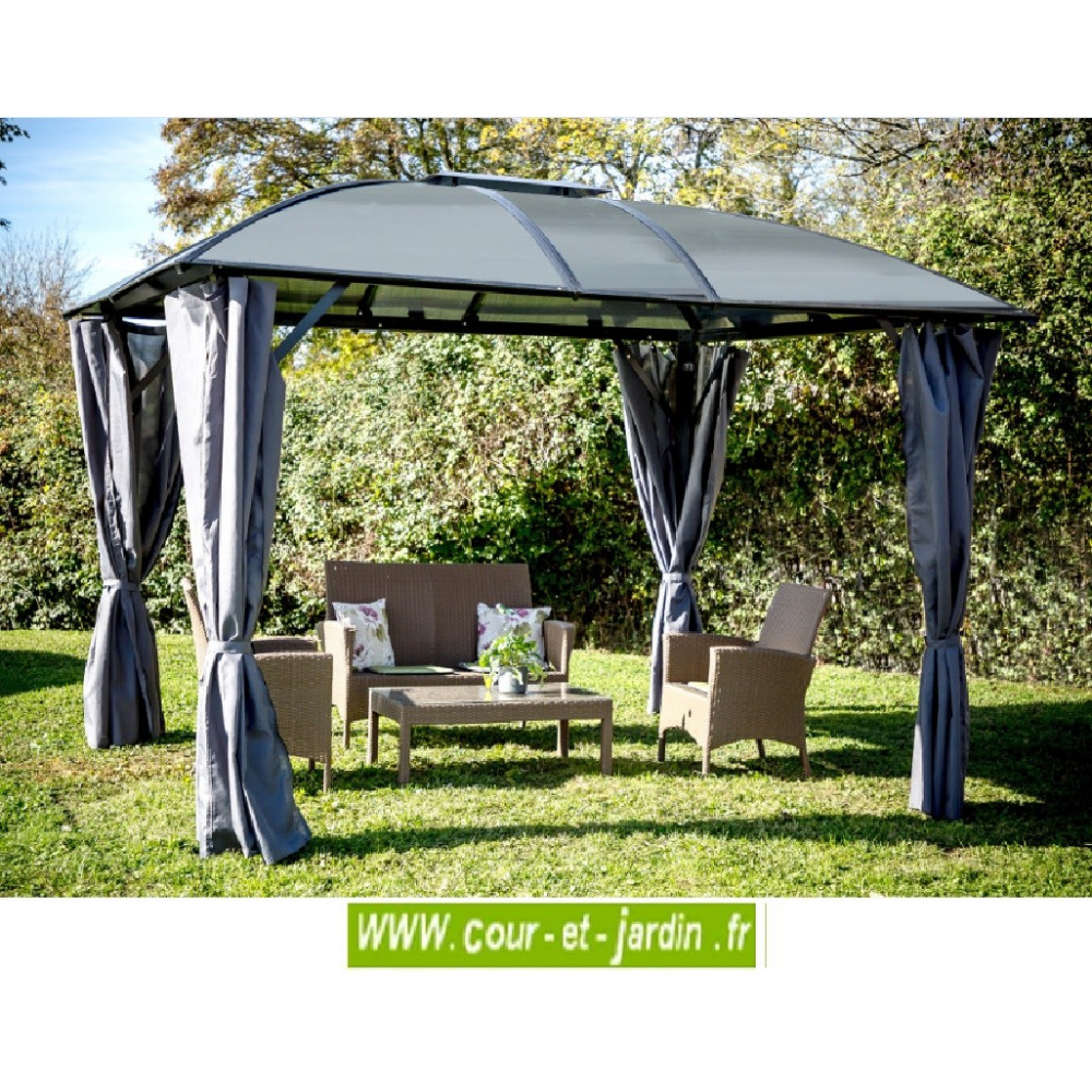 tonnelle aluminium de jardin gloriette terrasse. Black Bedroom Furniture Sets. Home Design Ideas