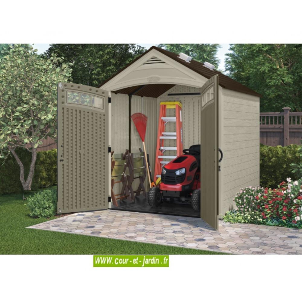 abri jardin r sine suncast storeplus abris de. Black Bedroom Furniture Sets. Home Design Ideas