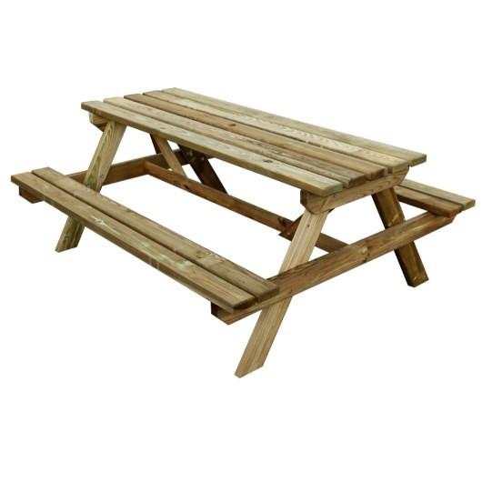 table pique nique table pique nique bois pique nique. Black Bedroom Furniture Sets. Home Design Ideas