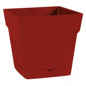 Pot carré - H. 17 cm