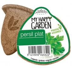 Capsule Prêt à planter : PERSIL PLAT