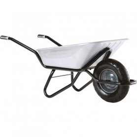 Brouette roue gonflable- 100 L