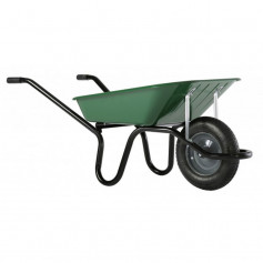 Brouette 1 roue gonflable - 90 l