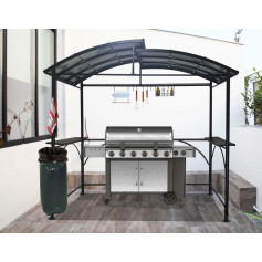Carport Barbecue - Abri autoportant