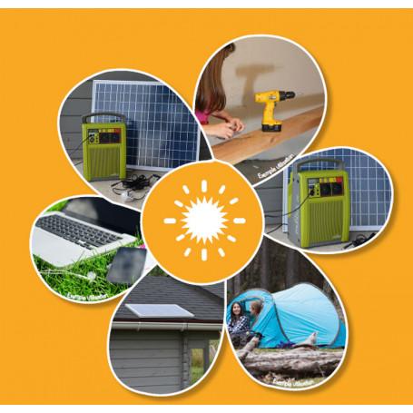 Batterie autonome à énergie solaire Cour & Jardin