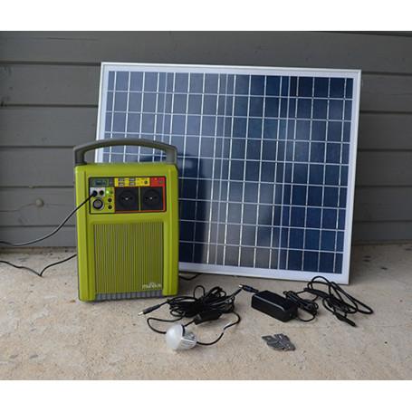 Batterie autonome à recharge solaire