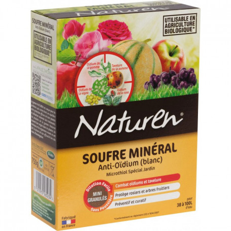 Soufre mineral