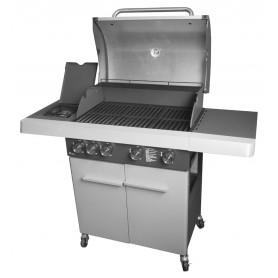 Plancha et Barbecue - 2 en 1