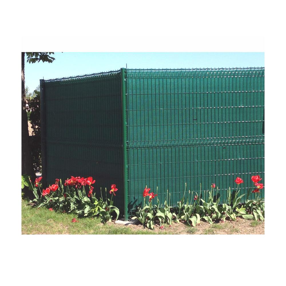 Hauteur Brise Vue Terrasse brise-vue, vert, occultant, hauteur 1m50, rouleau de 50m