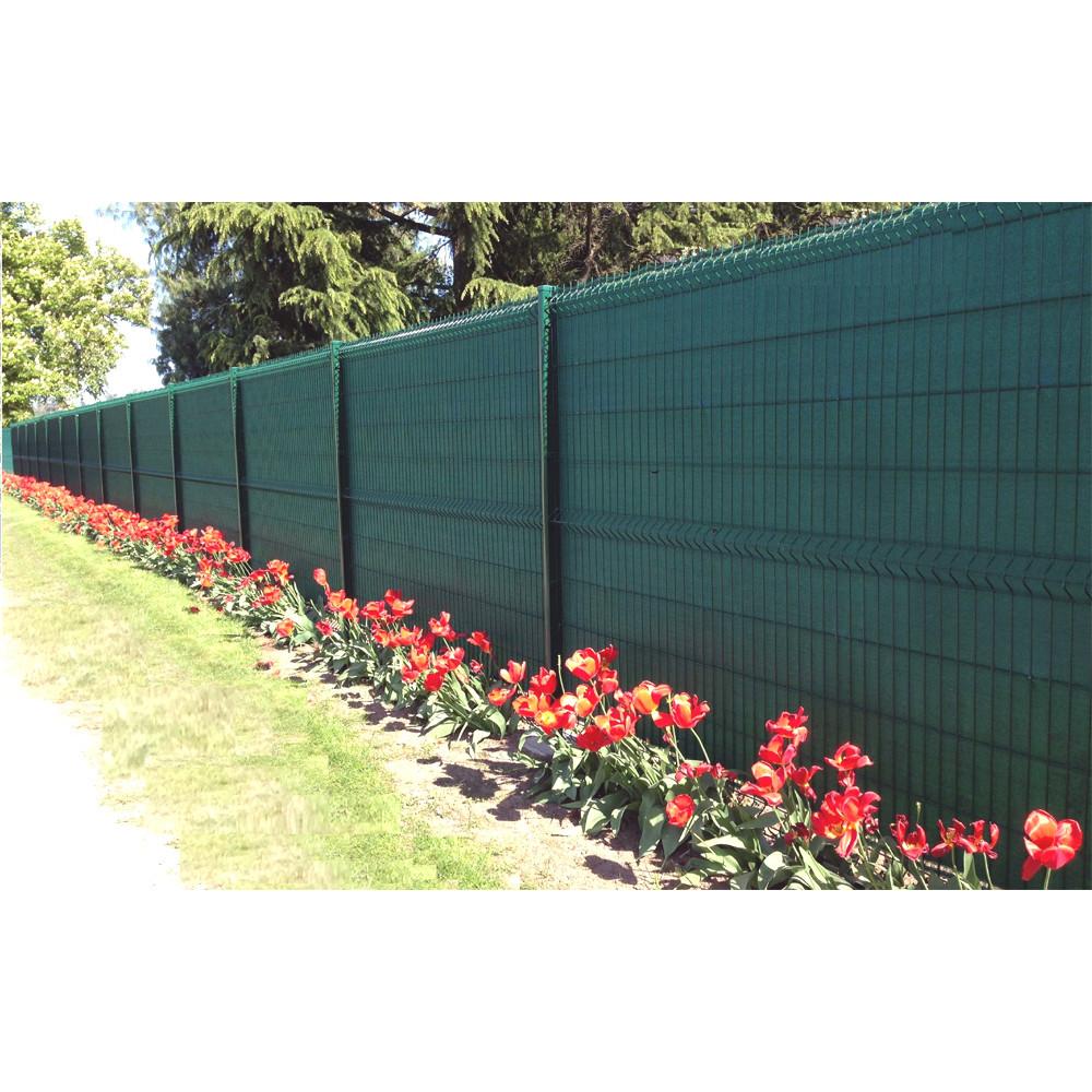 Cloture Bois Hauteur 2M50 filet brise vue 2m pour jardin, vert, occultant, livraison