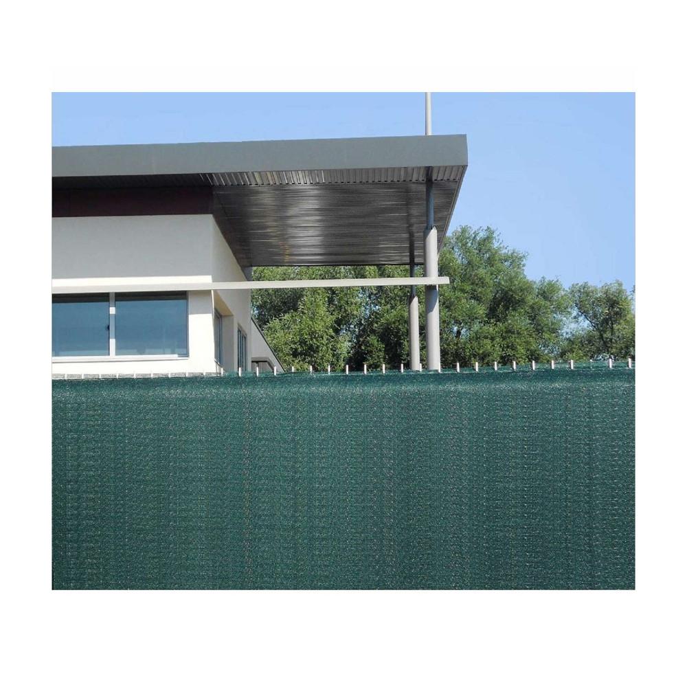 Brise vue 1m80 vert occultant, PVC, toile, brise-vue ...