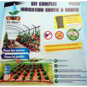 Kit de micro irrigation 50 m²