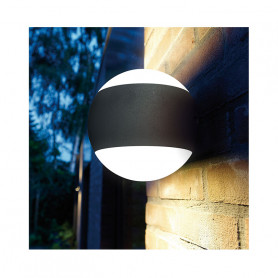 Boule applique LED murale - 90 W