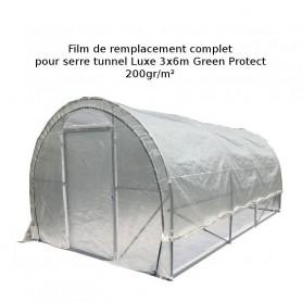 Toile de rechange Serre Luxe 3 x 6