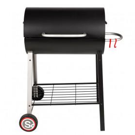 Barbecue Tonneau - Charbon de bois