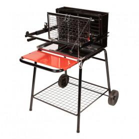 Barbecue cuisson verticale