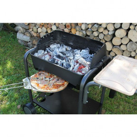 Barbecue & Four à pizza 2 en 1