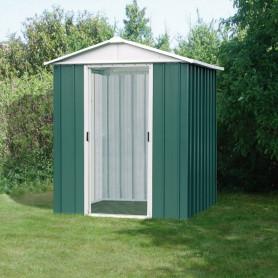 Abri métal vert 2,2 m²