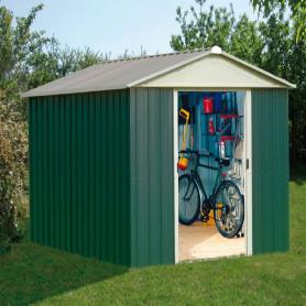 Abri jardin métal 3,7 m²